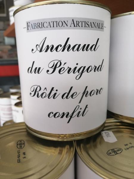 Un Air De Campagne Boucherie Perigueux Anchaud Du Périgord Rôti De Porc Confit 2