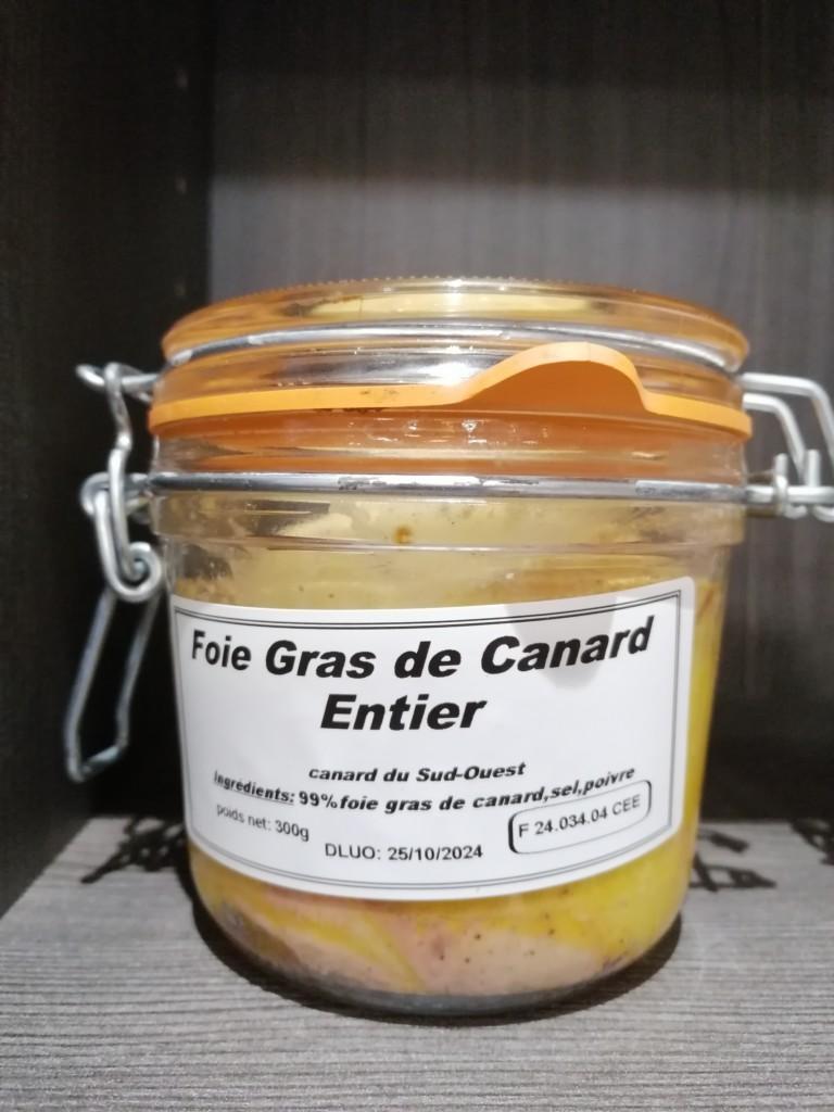 Un Air De Campagne Boucherie Perigueux Foie Gras De Canard Entier 300gr
