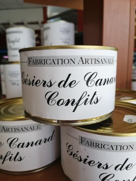 Un Air De Campagne Boucherie Perigueux Gésiers De Canard Confit 1
