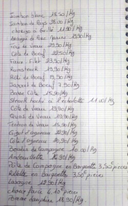 Un Air De Campagne Boucherie Perigueux DSC 0339